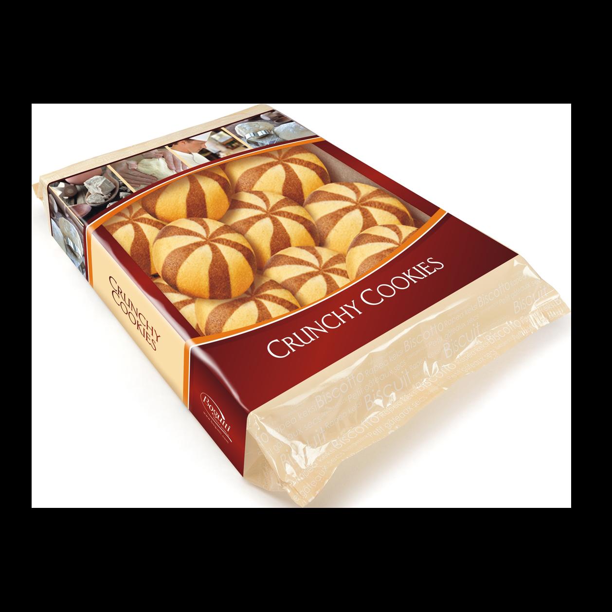 Kruche ciasteczka z kremem orzechowym