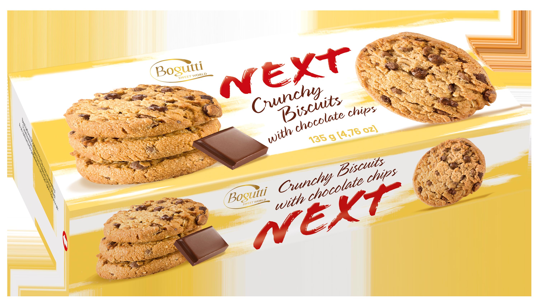 NEXT – Kruche ciasteczka z czekoladą